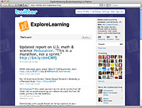 ExploreLearning on Twitter