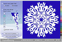 Holiday Snowflake Designer